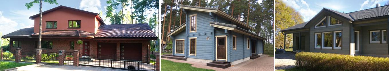 Maja ehitus, projektijuhtimine, palkmajad